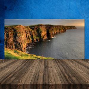 Kuchenruckwand Aus Glas Esg Spritzschutz 120x60cm Fels Meer Landschaft