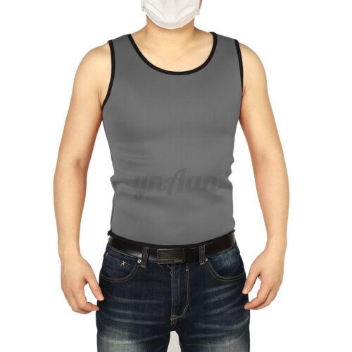 Women Men Sweat Slimming Neoprene Vest Sauna Weight Loss Fitness Tank Top Shaper