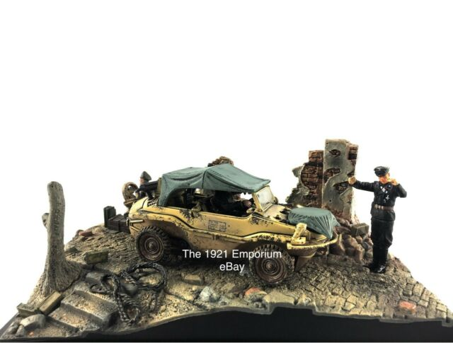 1:32 Diecast Unimax Toys Forces of Valor WWII German Army Type 166 Schwimmwagen
