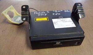 navigationsgerät einbau navi mazda 3 bk bj.03-09 cc33668fx 462100