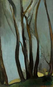 Trees : Amrita Sher-Gil : 1939 : Archival Quality Art Print