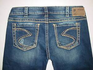"New Silver Jeans FRANCES 18"" Bootcut Low/Mid Rise Regular ..."