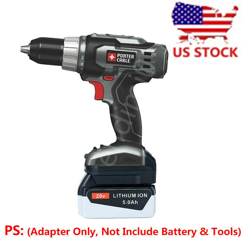 porter cable 18v cordless tool adapter work