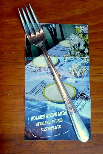 Holmes Edwards Youth Pattern Dinner Fork Inlaid Silverplate