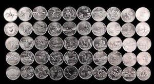 COMMEMORATIVO-Americano-US-State-Quarters-1999-2008-Spedizione-gratuita-nel-Regno-Unito