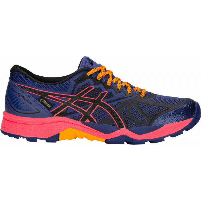 Womens Asics Gel  Fujitrabuco 6 G-tx Womens Trail Running shoes - bluee  save up to 80%