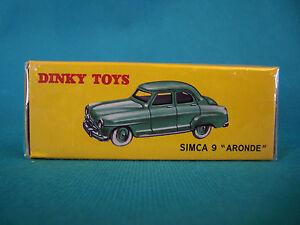 DINKY-TOYS-SIMCA-9-034-ARONDE-034-EDITION-ATLAS-24U