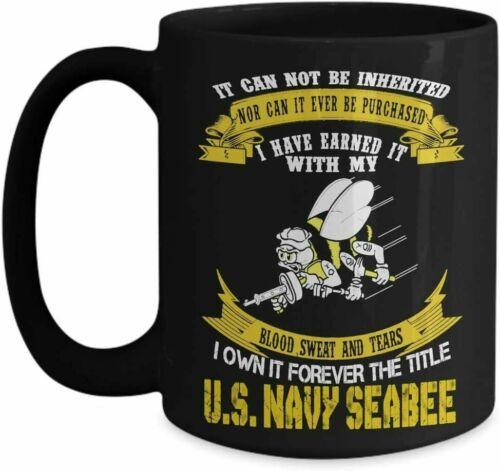 Navy Seabee Coffee Mug//United States Navy Coffee Mug 11oz//15oz