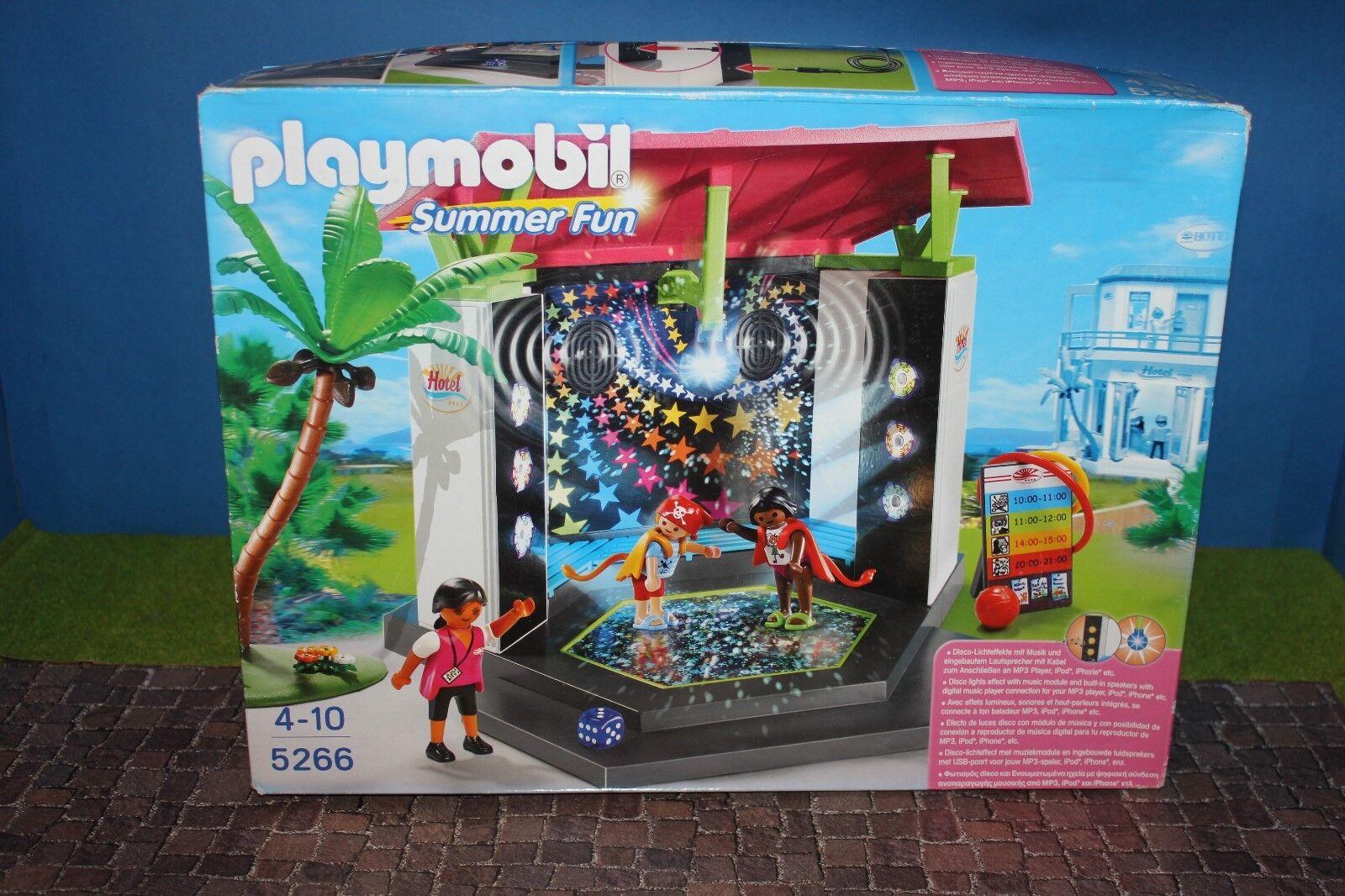 PLAYMOBIL 5266 PLAYMOBIL Kids Club Discoteca Nuovo/Scatola Originale MISB TOP RAR