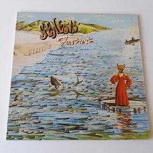 Genesis-Foxtrot-Vinyl-LP-UK-Large-Hatter-1975-A-3-B-2-EX-EX