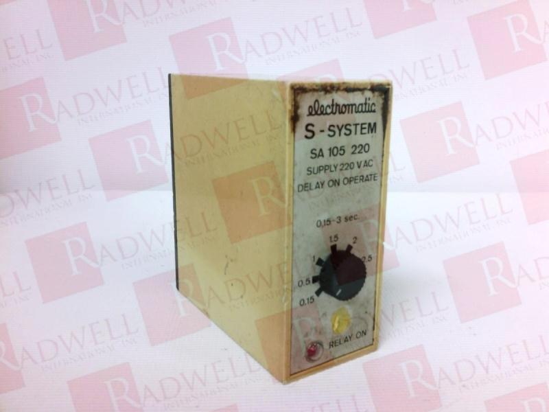 CARLO GAVAZZI SA105-220-3S   SA1052203S (USED TESTED CLEANED)