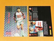 M. GRASSI SUISSE STADE RENNAIS RENNES ROAZHON FOOTBALL CARD PREMIUM PANINI 1995
