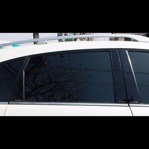 Black Door B Pillar Mirror Plate Molding For Chevrolet Captiva 2008 2015 Ebay