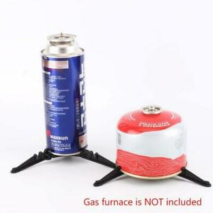 Foldable Outdoor Camping Cooking Gas Tank Stove-Cartridge Canister Stand Geli