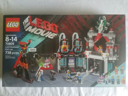 The Lego Movie 70809 LORD BUSINESS/' EVIL LAIR New Factory Sealed minifigures
