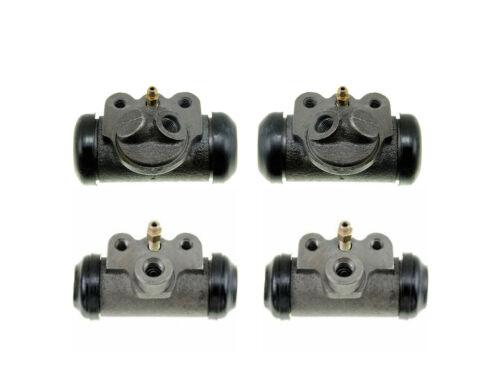 4 Brake Wheel Cylinders 1950-1955 Nash Rambler 50 51 52 53 54 55 NEW SET AMC
