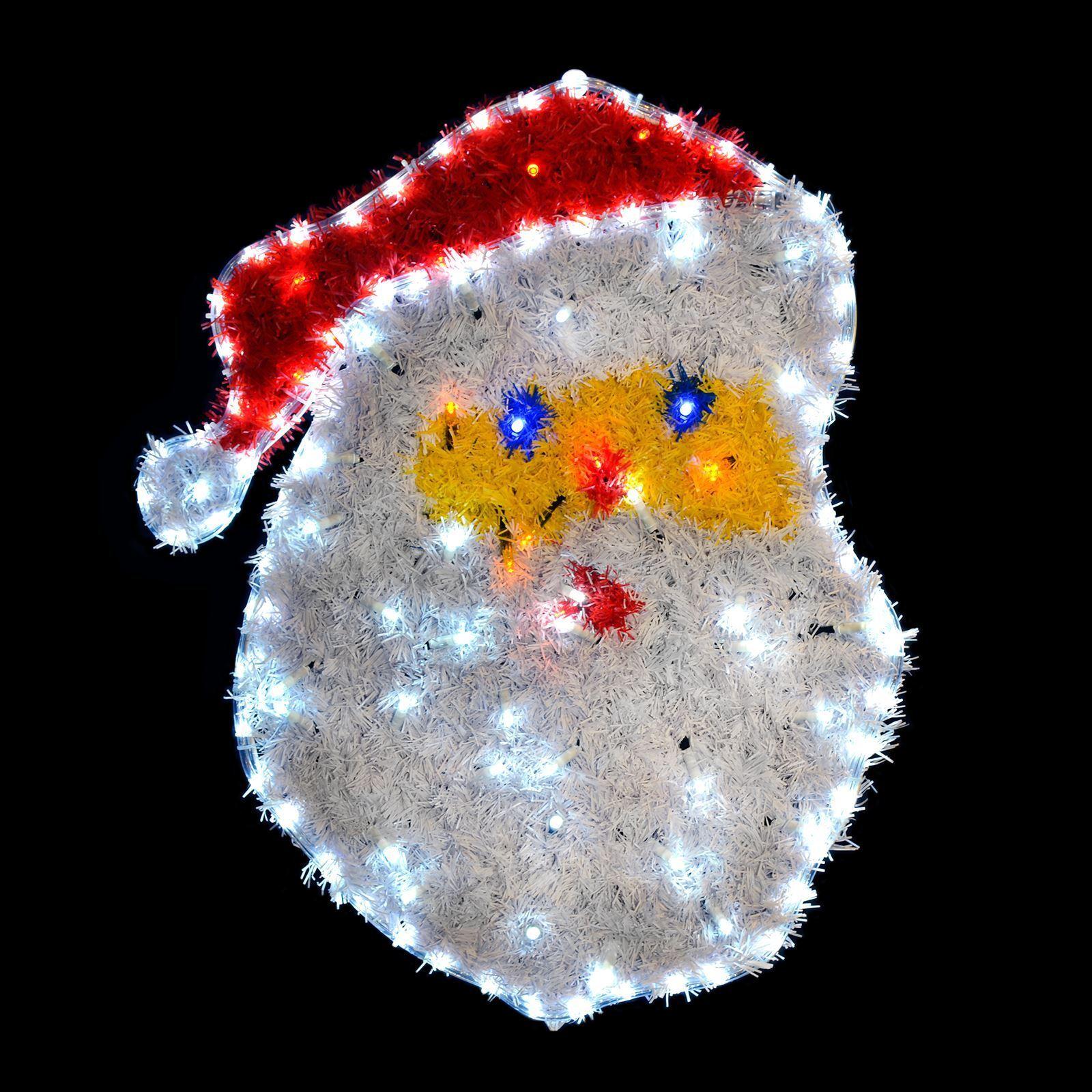 Festive LED luce corda e le Decorazioni Babbo Babbo Babbo Natale Decorazione Natalizia Indoor Outdoor 28be13