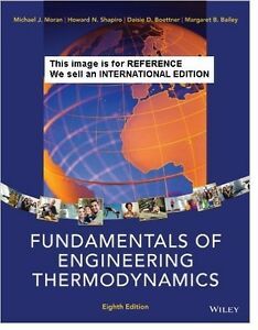Fundamentals-of-Engineering-Thermodynamics-by-Howard-N-Int-039-Ed-Paperback-8ED