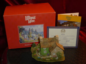 LILLIPUT-LANE-Mosswood-L2179-British-Collection-Model-Cottage-Boxed-deeds-1998