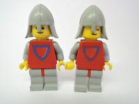 Lego Figur 2 x Castle Classic Knight Ritter cas233 Set 0016 6002