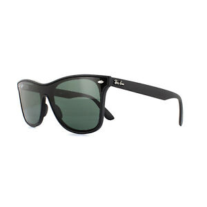 25386f12360 Ray-Ban Sunglasses Blaze Wayfarer 4440N 601 71 Black Grey Green ...