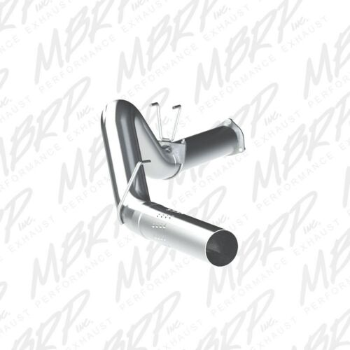 """MBRP 5/"""" Filter Back Muffler Delete Exhaust for 2011-2014 Ford F250//350//450 6.7L"""