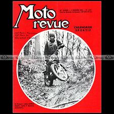 MOTO REVUE N°1472-c CLAUDE PEUGEOT NSU WANKEL NSU TRIAL BUC PUCH 175 RUMI 1960