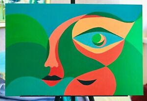 original-acrylic-on-board-painting-contemporary-art-very-fine-artwork-signed