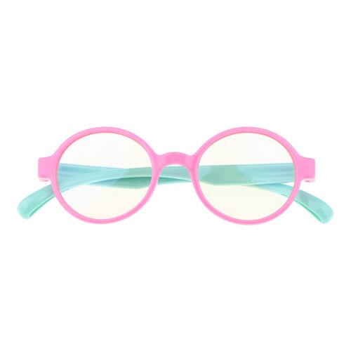 Children Flexible Frame Eyewear Safe Unbreakable Boys Girls Optics Glasses