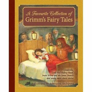 A-Favourite-Collection-of-Grimm-039-s-Fairy-Tales-Cinderella-Little-Red-Riding