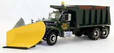wm First Gear 49-0022 Mack B61 Dump Truck Haines & Kibblehouse w/Snow Plow  1/25