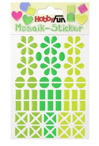 Limone* 3451814 Mosaik-Sticker II *Apfel Smaragd