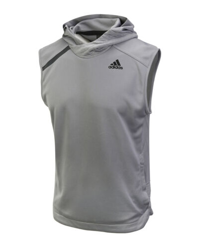Adidas Essential Sleeveless Shooter CF1117 CF1116 Soccer Gym Training Hooded Top