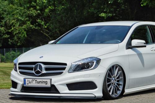 Sonderaktion Spoilerschwert Frontspoiler ABS Mercedes CLA AMG-Line W117 ABE