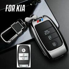 Metal Car Key Fob Case Cover For Kia Sportage Soul Optima Forte Telluride Sedona Fits More Than One Vehicle