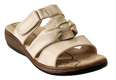 Damas Tacón Con Plataforma Resbalón En Sandalias para mujer Casua Verano Playa Mulas Zapatos Talla 3-8