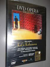 DVD OPERA COLLECTION KAT'A KABANOVA JANACEK GUSTAFSON PALMER DAVIES WINTER