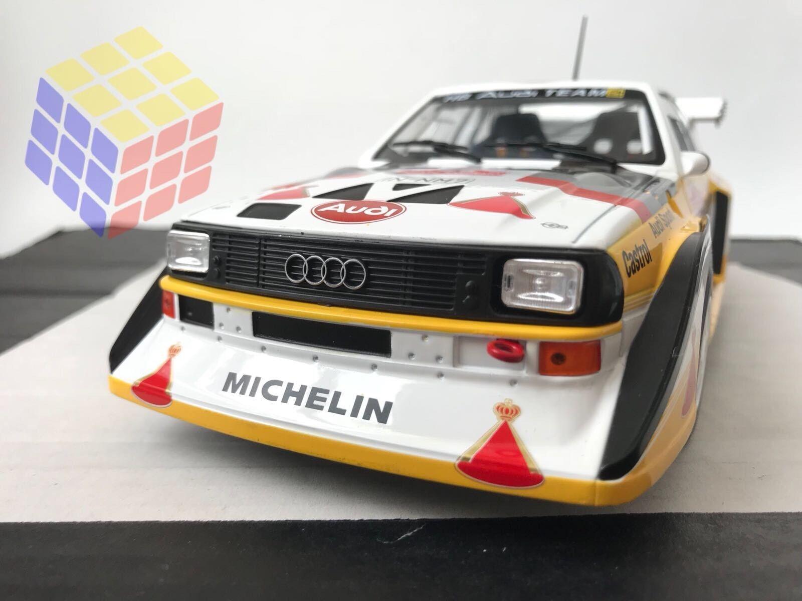 Audi Sport Quattro S1 - Rally San Remo  1985 - Walter Röhr (1 18) - IXO  centre commercial professionnel intégré en ligne