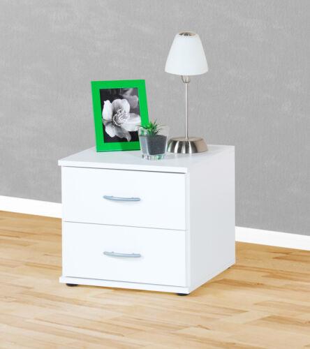 Bürocontainer 91-8 Nachttisch Beistelltisch Nachtkästchen weiß buche ahorn eiche