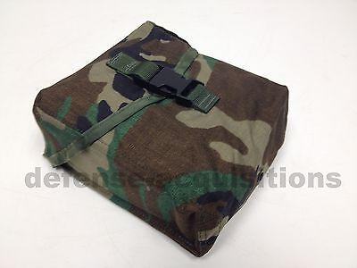 New USGI Military 200 Round Saw Pouch / Utility Pouch - Woodland Camo- MOLLE II