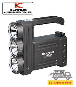 KLARUS-RS80-3450-Lumen-3-CREE-LED-high-output-Flashlight-spotlight-torch