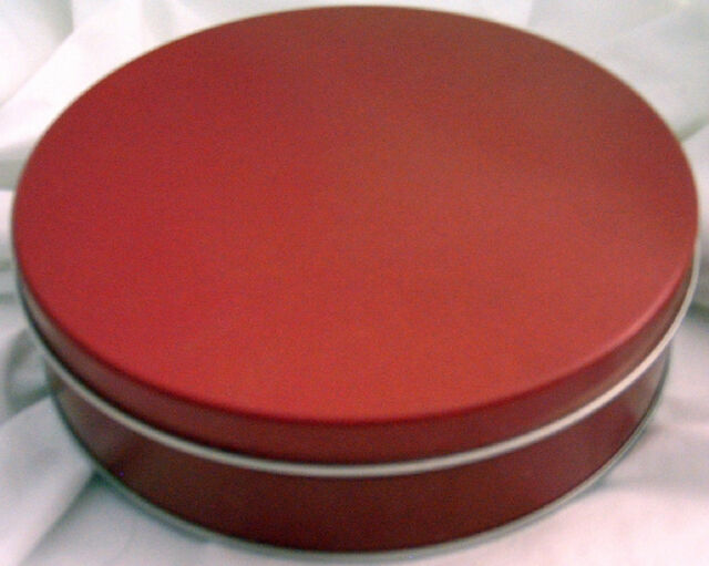 Cookie Tin - Red
