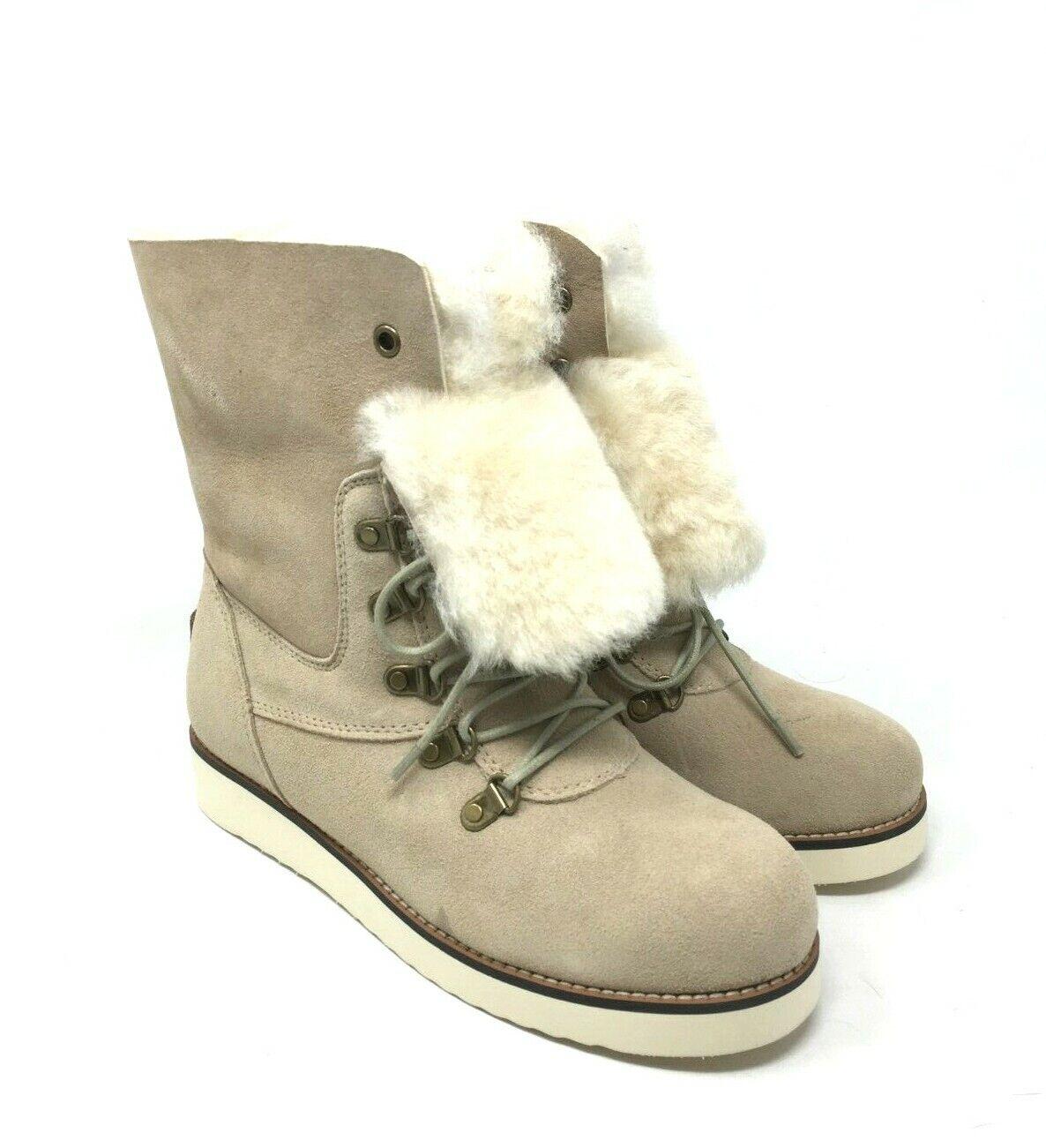 NIB Australia Luxe Collective Women's Yael Sand Boot Size  8