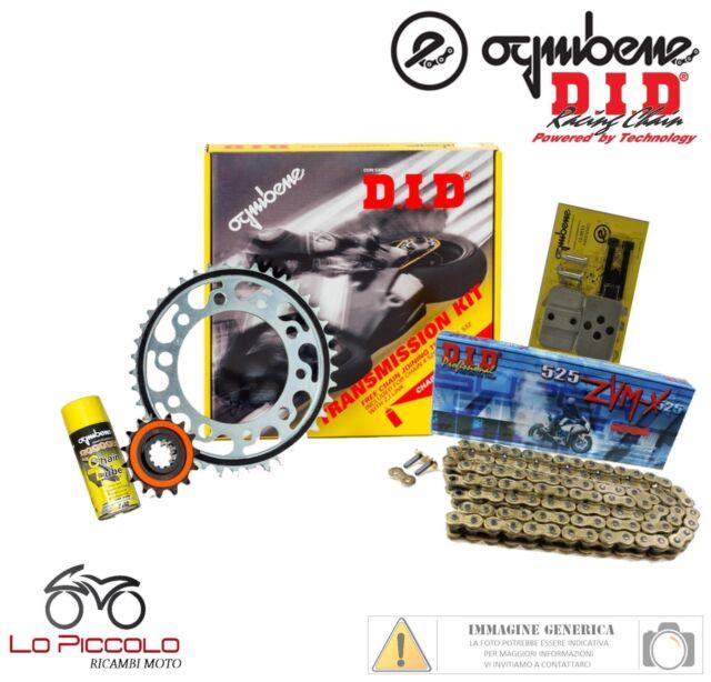 KIT TRASMISSIONE PREMIUM DID CATENA CORONA PIGNONE KTM LC8 990 Super Duke 2007