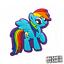 MY-LITTLE-PONY-Pins-Pin-Crocs-Clogs-Jibbitz-Rainbow-Dash-Scrapbooking-Disney Indexbild 12