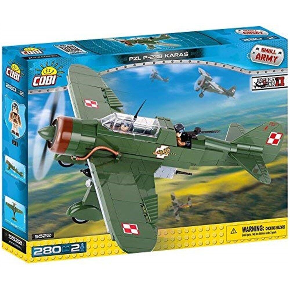 Cobi - Small Army - Pzl P-23b Karas (280 Pcs)