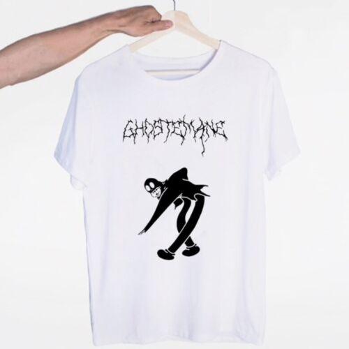 Unisex Ghost Cartoon Mercury Neu verschiedene Motive GHOSTEMANE T-Shirt