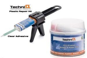 Plastic Bumper Repair Kit >> Plastic Bumper Repair Kit Bumper Filler Clear Adhesive Quikgun