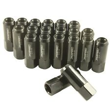 For Pontiac M12X1.5mm Locking Lug Nuts 20Pc Extended Forged Aluminum Tuner Green