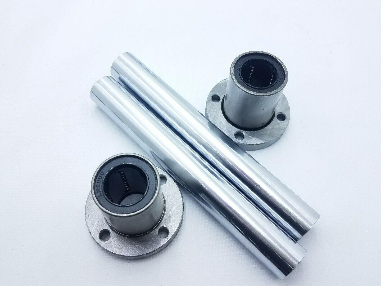 Bearing & Bushing Parts 1Pcs LMF6-LMF40 Linear Motion Bearing ...
